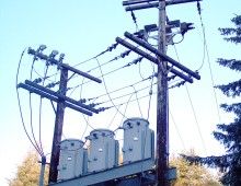 Angoon Overhead Distribution and Transformers