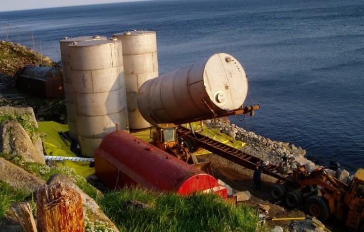 Diomede Bulk Fuel Upgrade
