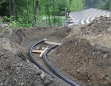 Hoonah Heat Recovery Underground Piping
