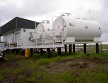 Kongiganak Power Plant on Piles