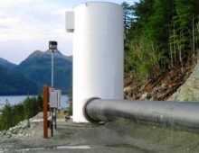 Pelican Hydroelectric Surge Tank