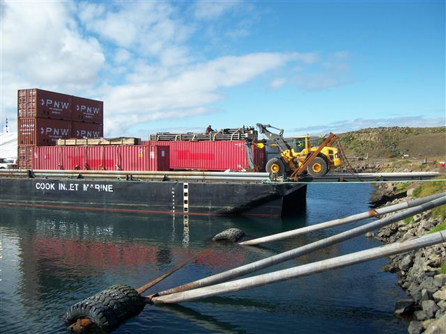 Barge Offload Construction Admin /