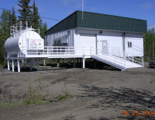 Stevens Power Plant Exterior