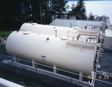 Tenakee Bulk Fuel Upgrade Tanks
