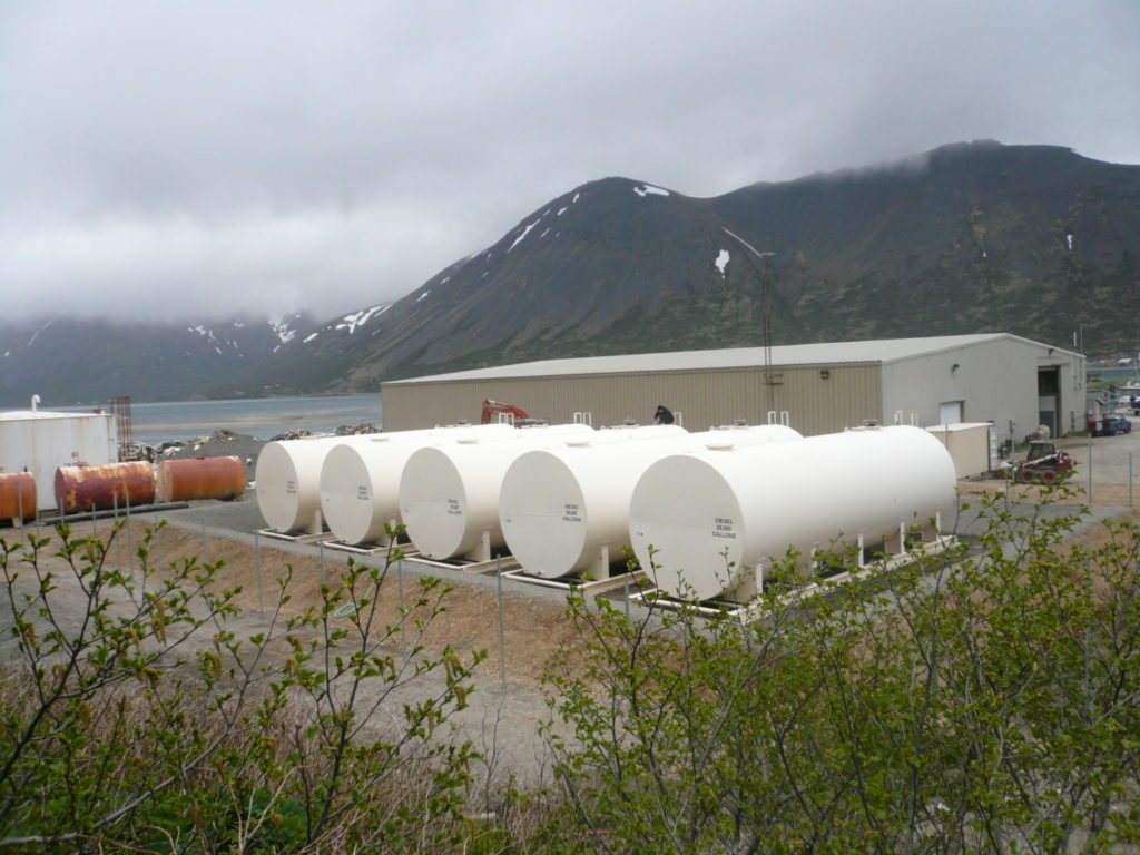 King Cove Bulk Fuel Tank Farm