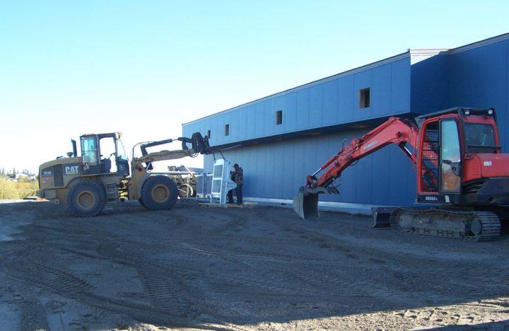 Fort Yukon Powerplant Construction