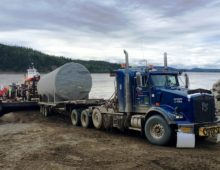 Barge Loading at Yukon River