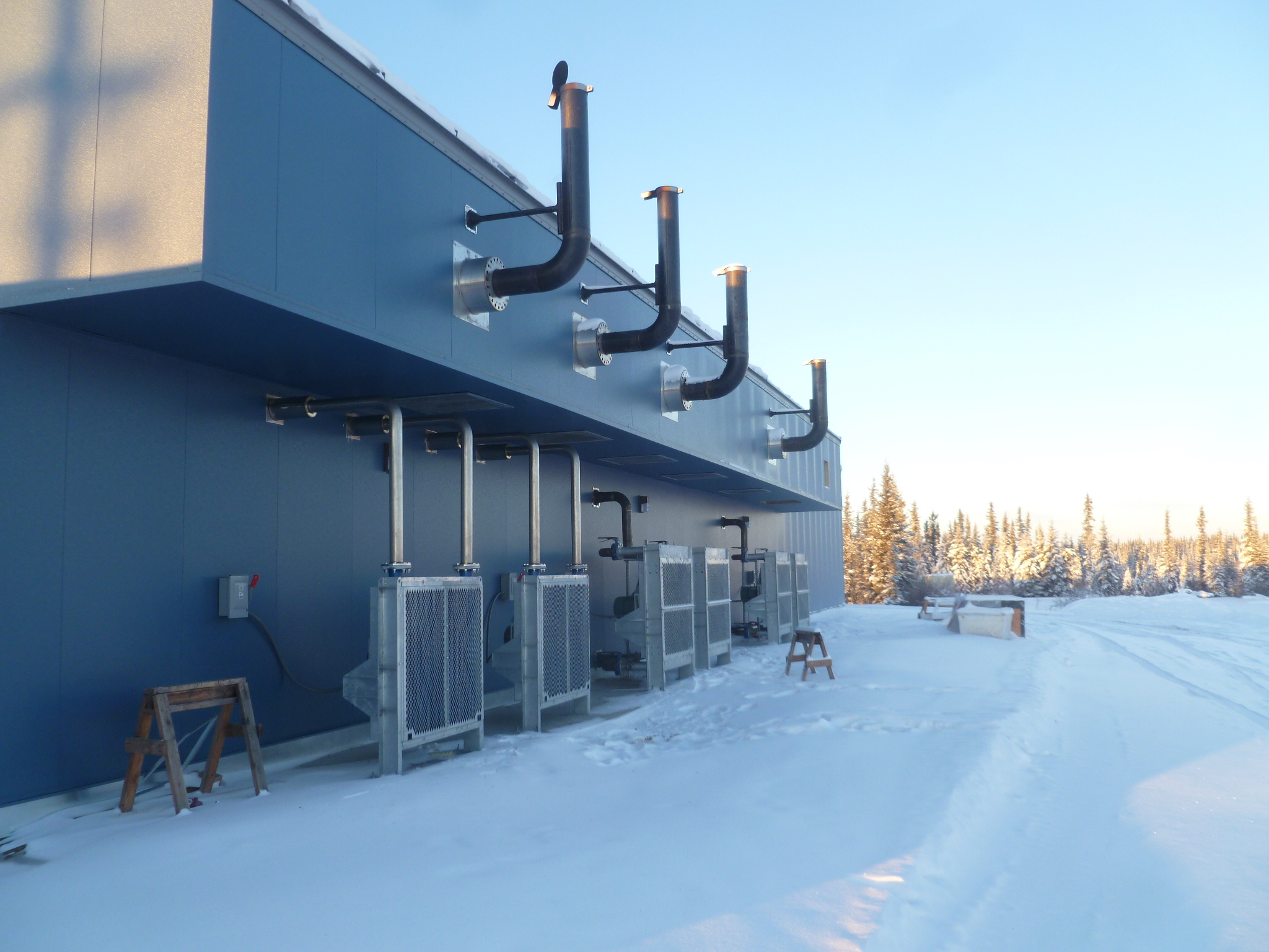 Gray Stassel Engineering Fort Yukon Fires Up A New Power Plant